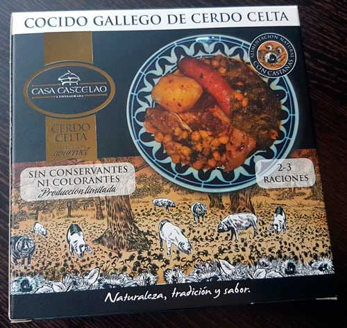 cocido gallego de cerdo celta productos artesanos