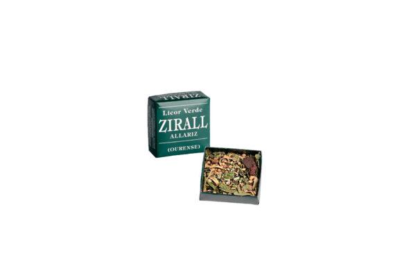 lico de hierbas verde zirall productos gallegos ocarallo