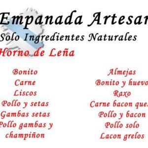 empanada artesana ocarallo productos gallegos